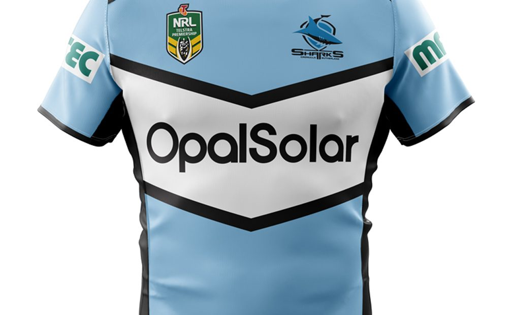 Cronulla-Sutherland Sharks NRL 2018 XBlades Home & Away Jerseys