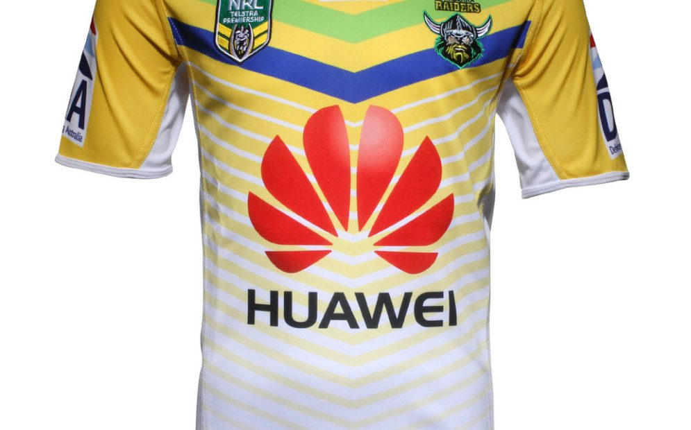 Canberra Raiders NRL 2019 ISC Home y camisetas alternativas