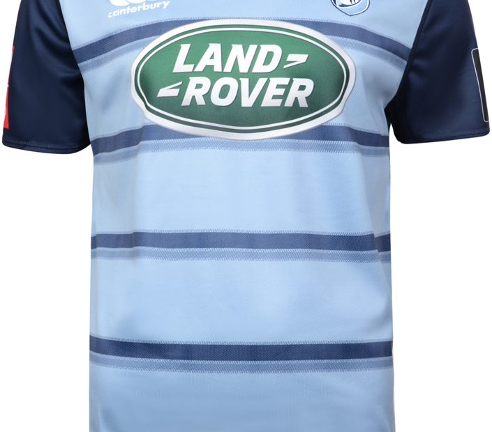Cardiff Blues 2017/18 Canterbury Home Camisa