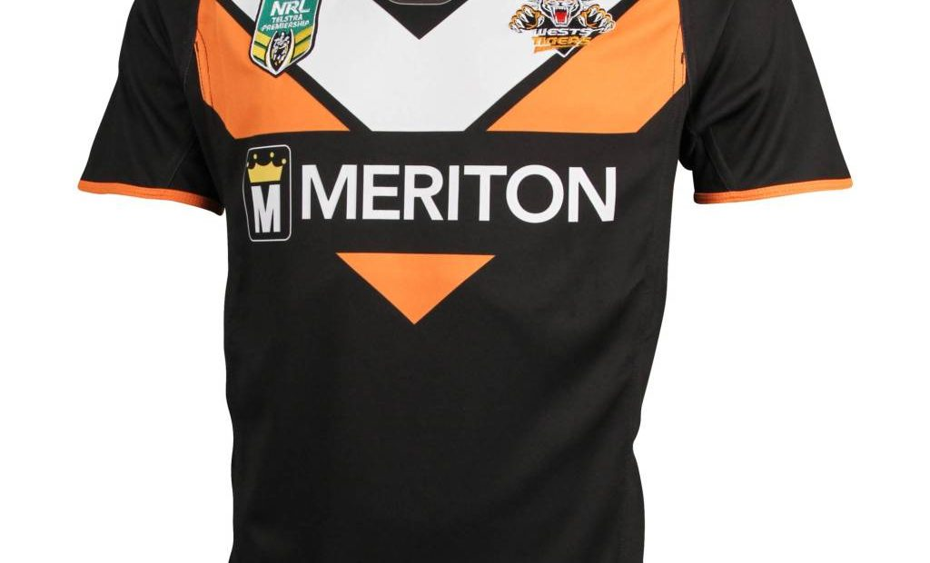 Wests Tigers NRL 2015 ISC Home y camisetas alternativas
