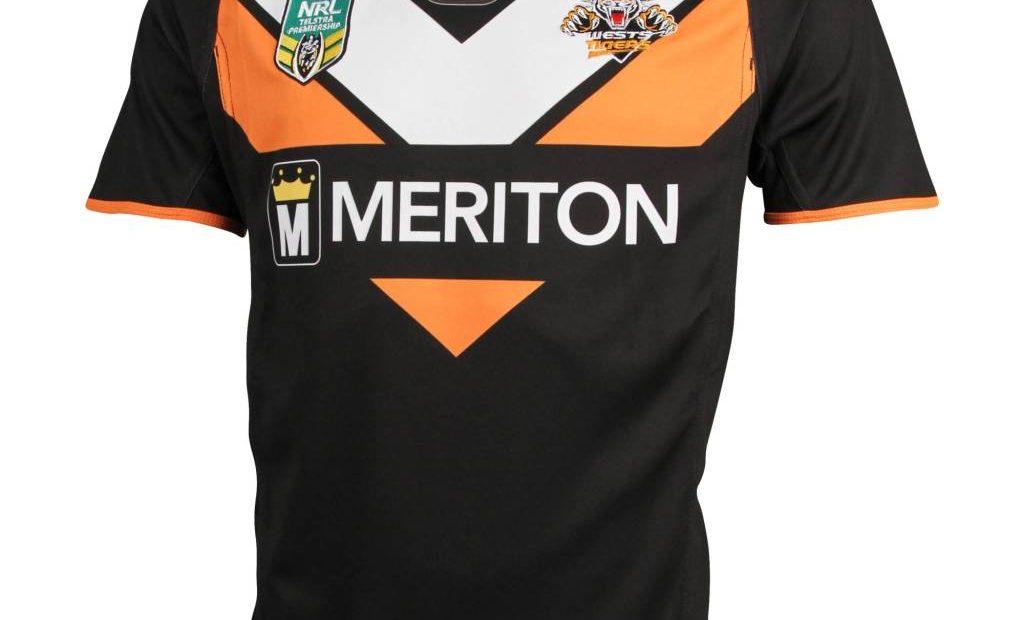 Wests Tigers NRL 2015 ISC Home y camisetas alternativas