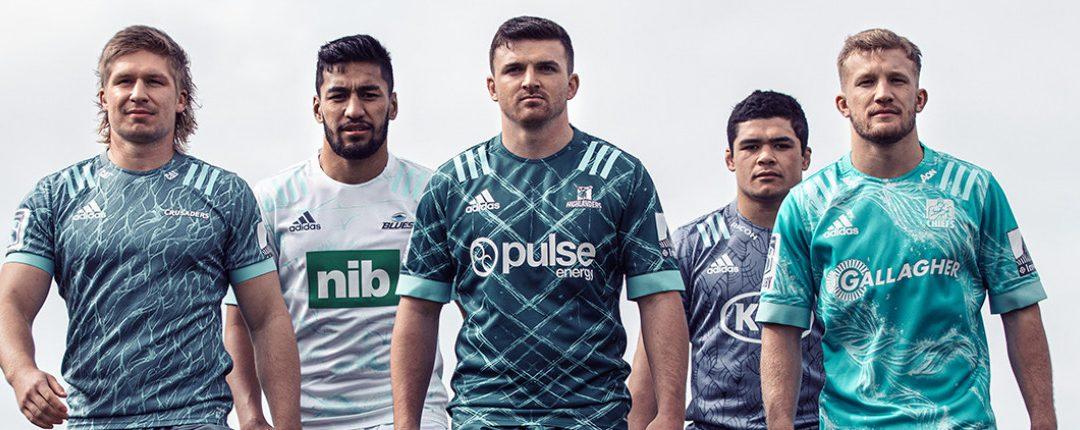 Los equipos de Super Rugby de Nueva Zelanda desvelan las camisetas
